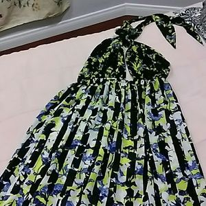 PETER PILOTTO DRESS HIGH LOW BACK OUT S/P